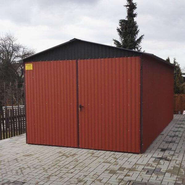 Plechová garáž 3×5 BTX 8004
